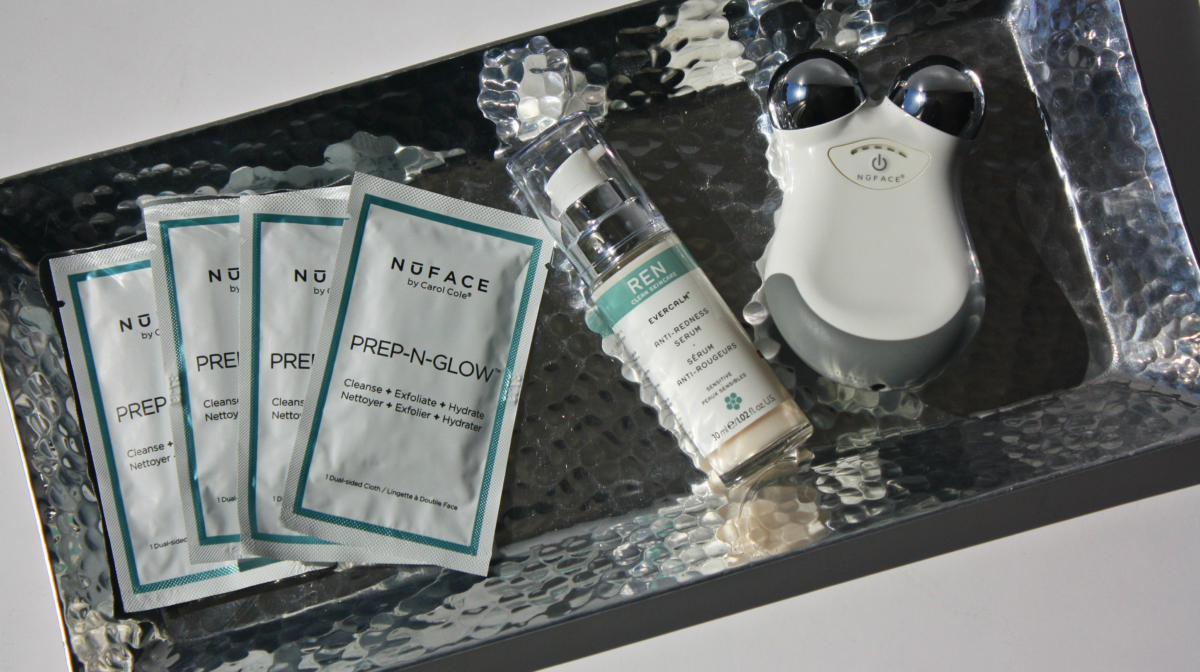 Upgrade your Routine with NuFace's Prep-N-Glow Cloths