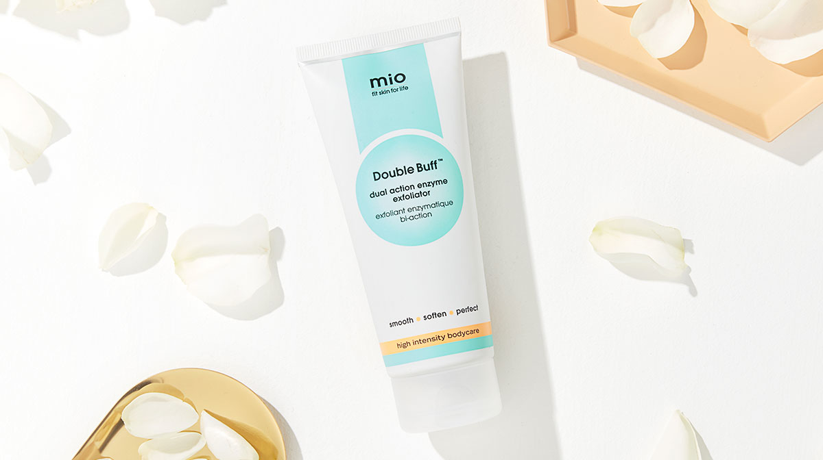 Beauty Discoveries: Mio's Double Buff Enzyme Exfoliator