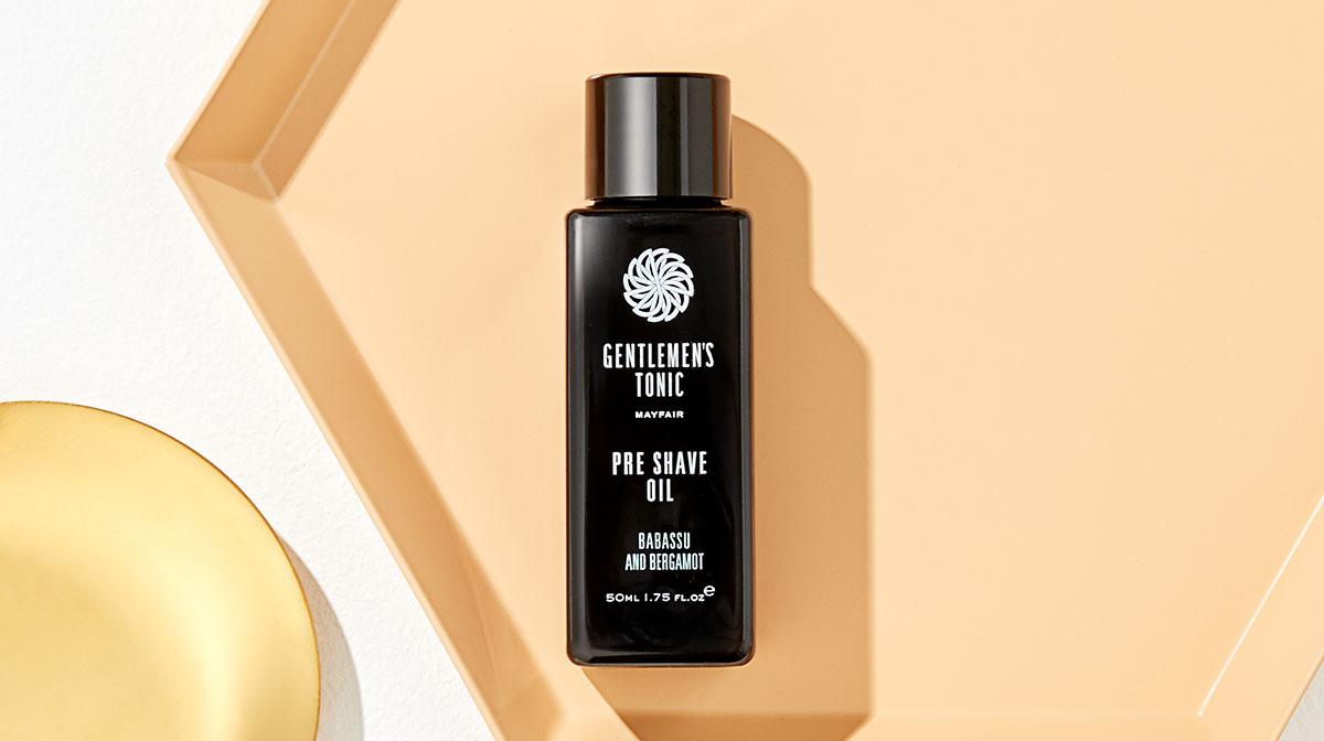 Beauty Discoveries: Gentlemen's Tonic Pre Shave Oil