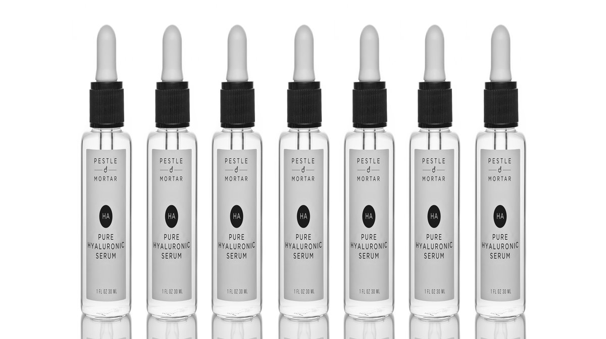 What Is The Pestle & Mortar Pure Hyaluronic Serum?