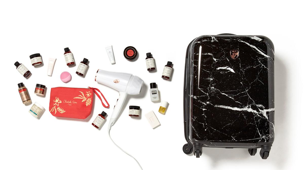 WIN! Luxury Heys America Suitcase + Beauty Travel Essentials