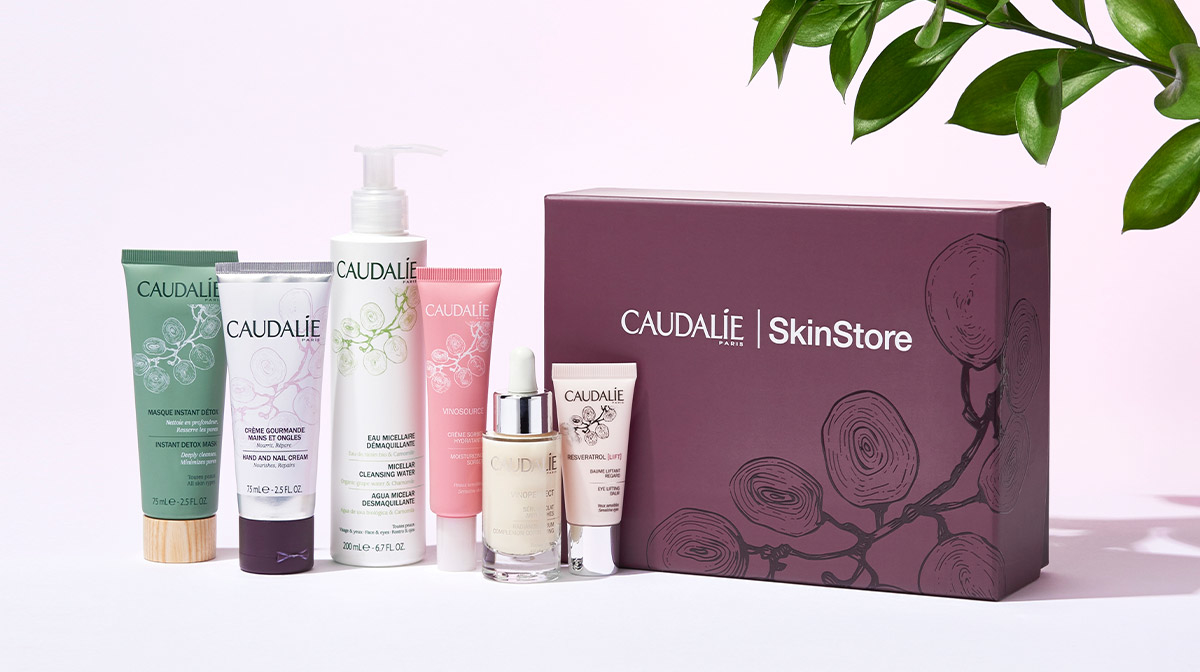 SkinStore X Caudalie Limited Edition Beauty Box: Step By Step Guide