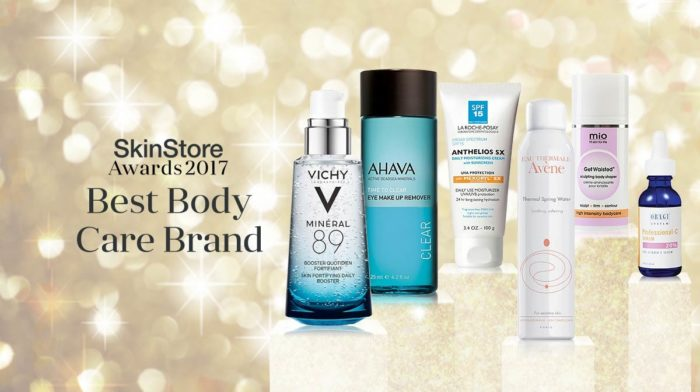 SkinStore Awards 2017: Best Body Care Brand