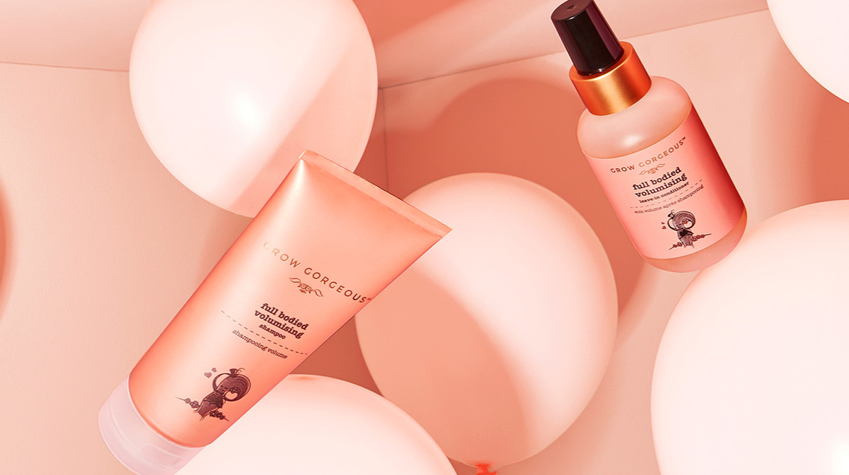 The Grow Gorgeous Full Bodied Volumizing Collection