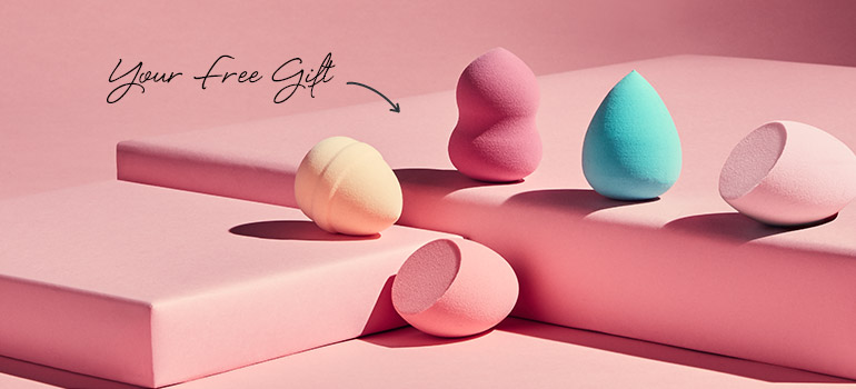 Runway Ready | SkinStore's Free Set Of Five Beauty Sponges