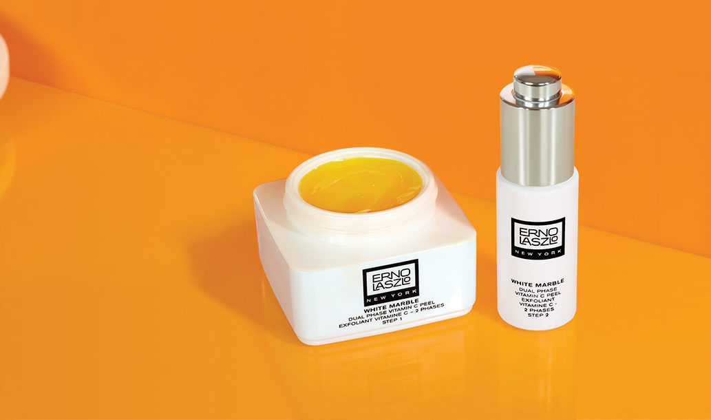 New From Erno Laszlo: The White Marble Dual Phase Vitamin C Peel