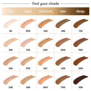Dermablend: Find Your Shade