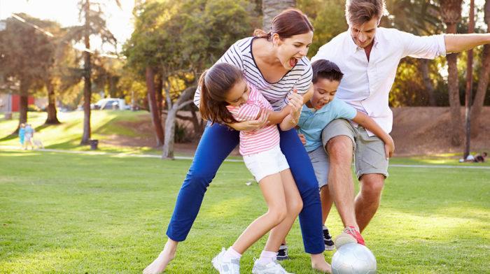 Aktivitäten mit der Familie um fit zu bleiben