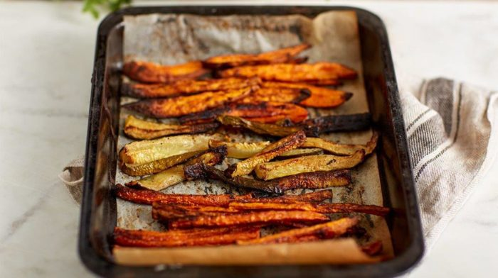Baked Trio | Sweet Potato, Carrot and Courgette Sticks