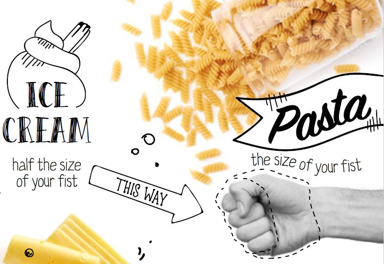 Exante Ice Cream and Pasta Portion Control