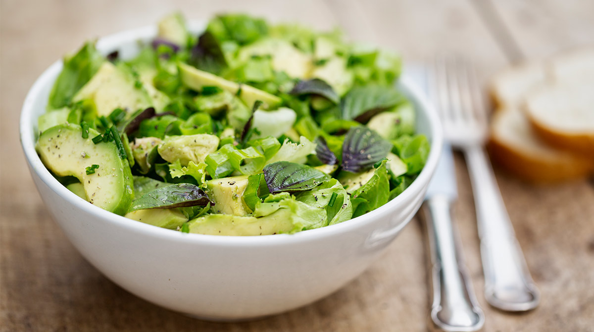 #WellnessWednesday | Spring Beginnings + Lean and Green Avocado Salad