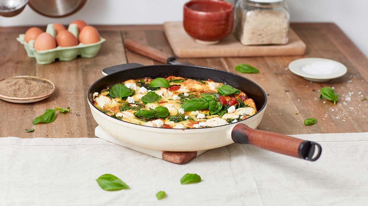Exante Spring eBook Vegetable Frittata Recipe