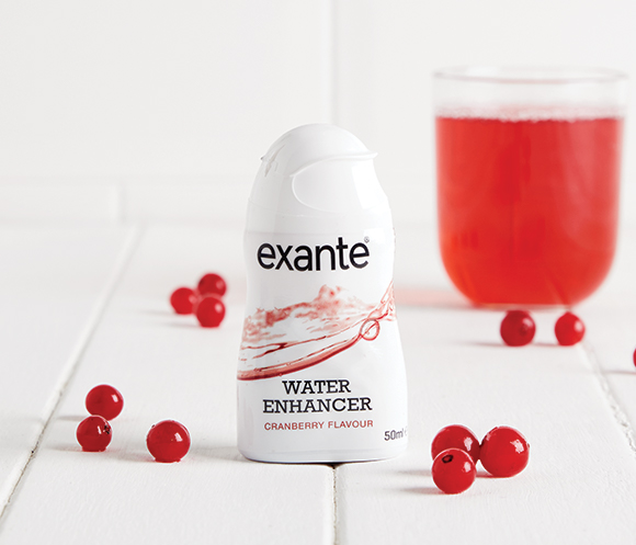 Exante Cranberry Flavour Water Enhancer