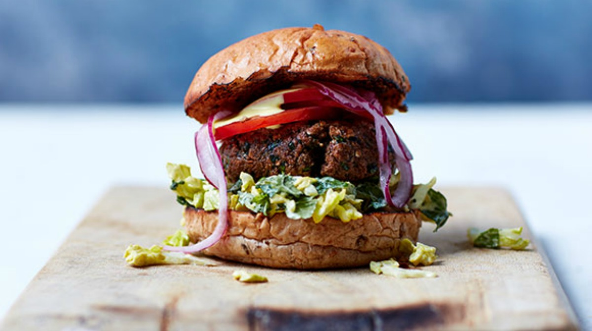 Low Fat Herby Burgers