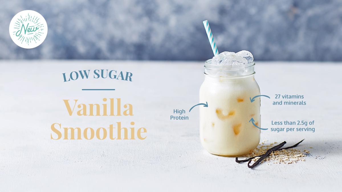 Low Sugar Smoothies Vanilla