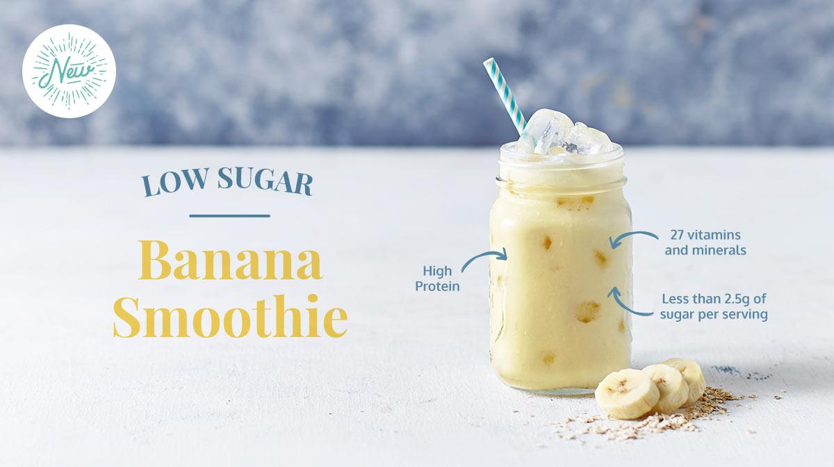 Low Sugar Smoothies Banana