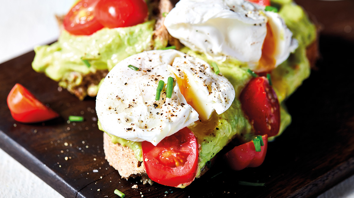 Morning Eggs and Avocado on Toast