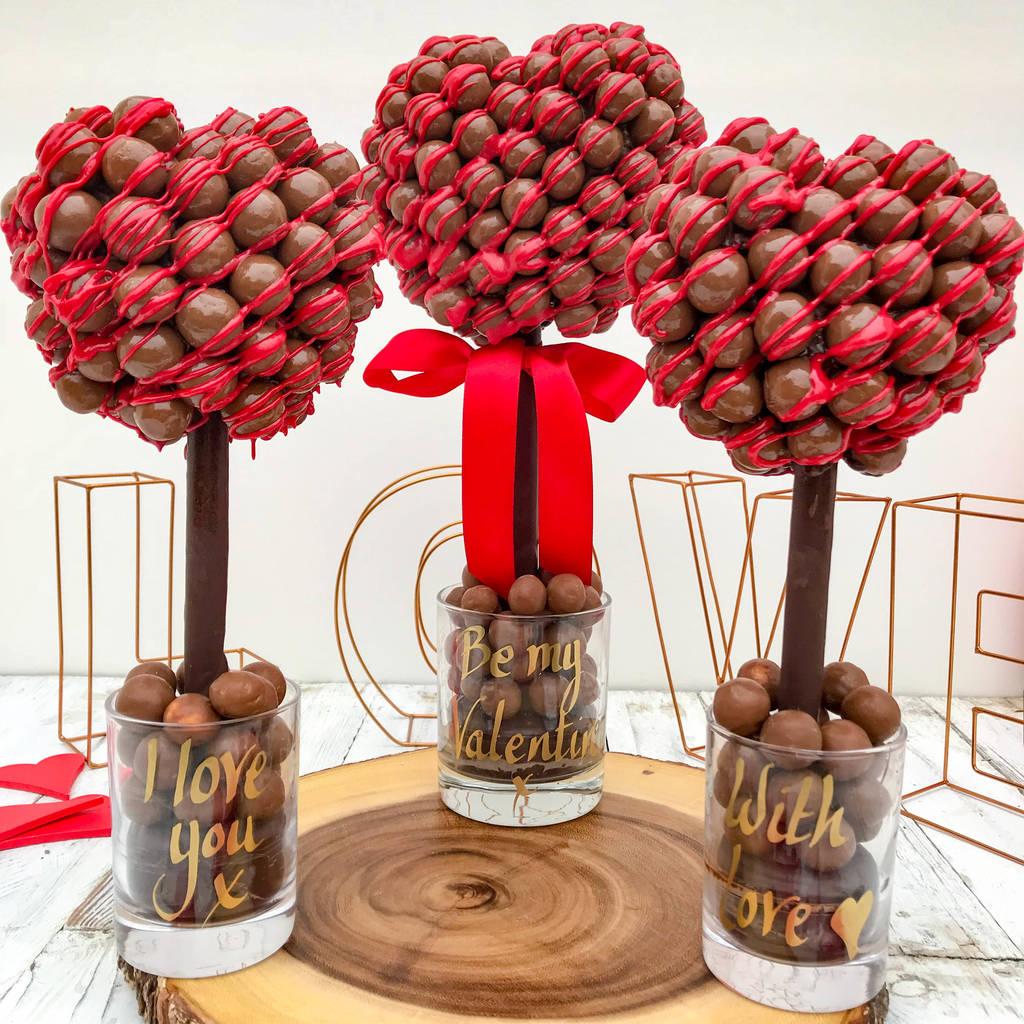 Valentine's Day Malteaser Tree
