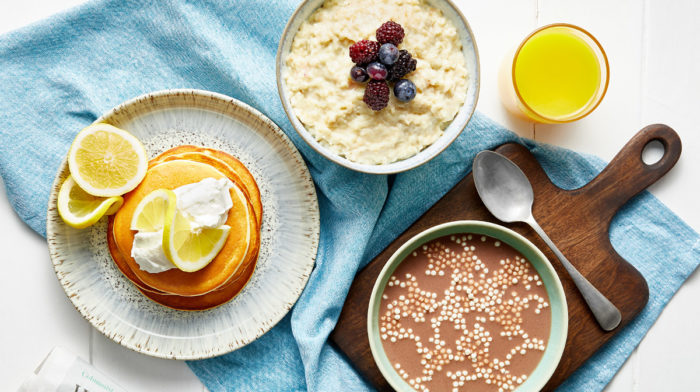 Enjoy a Healthy Pancake Day with Exante's New Breakfast Range!