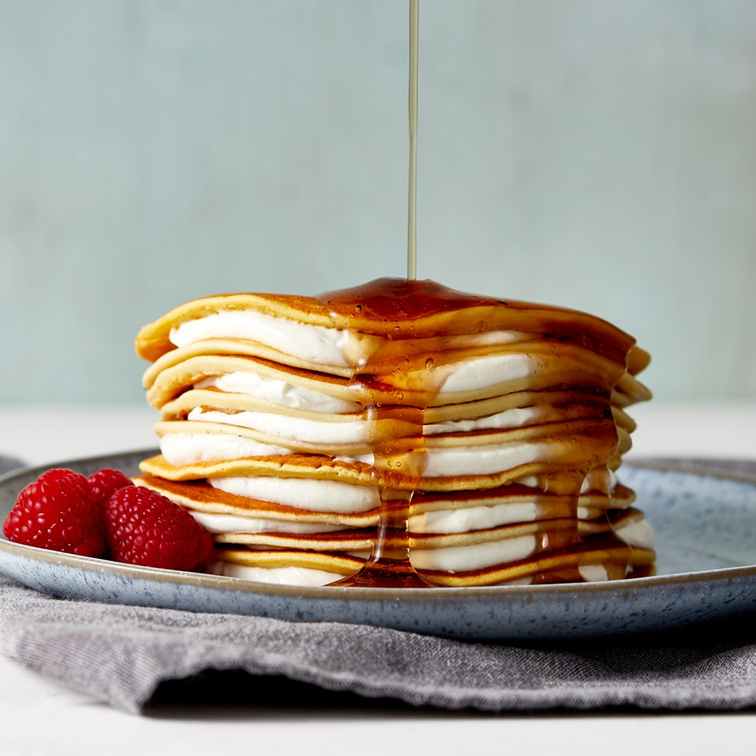 Exante Pancakes and zero sugar syrup