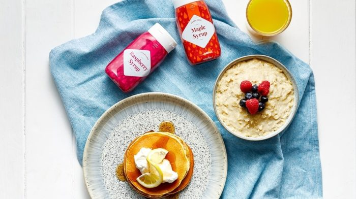 Step Up Your Breakfast Game with Exante Zero Sugar Syrups!