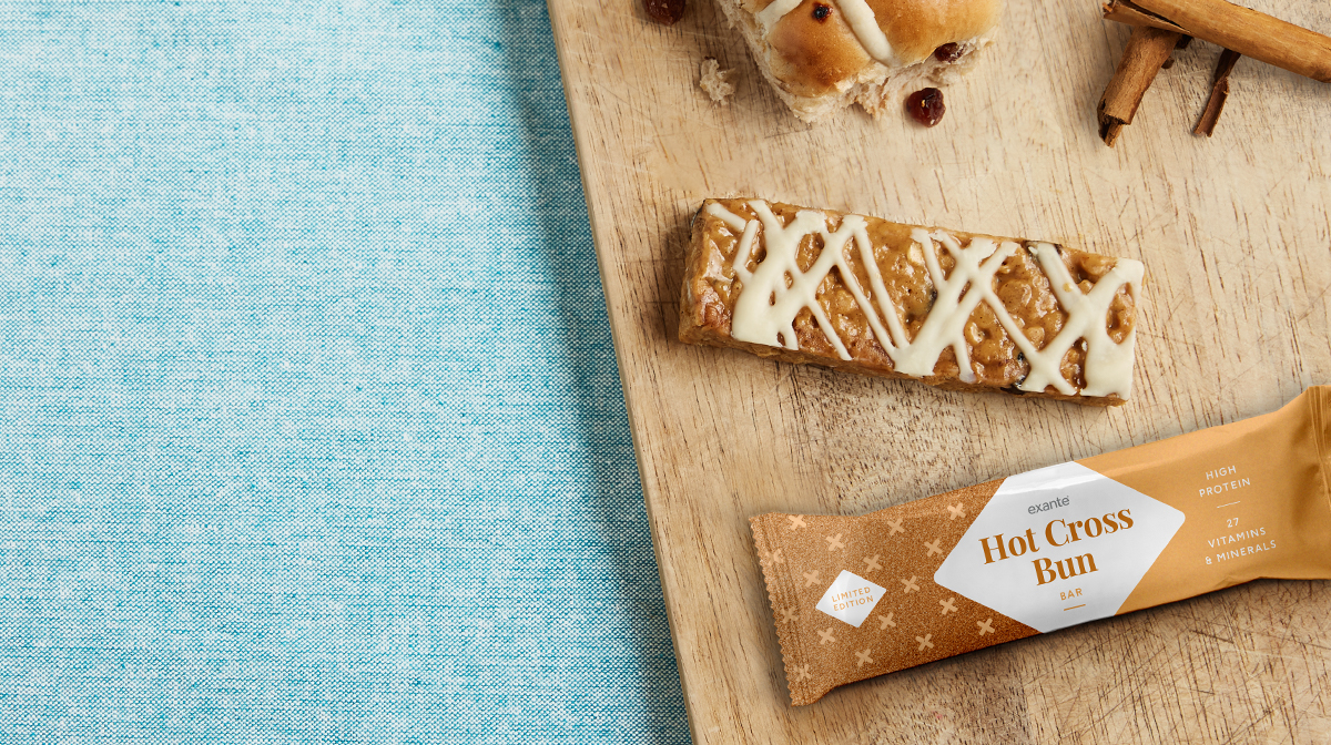 Limited Edition Easter Special: New & Improved Hot Cross Bun Bar!