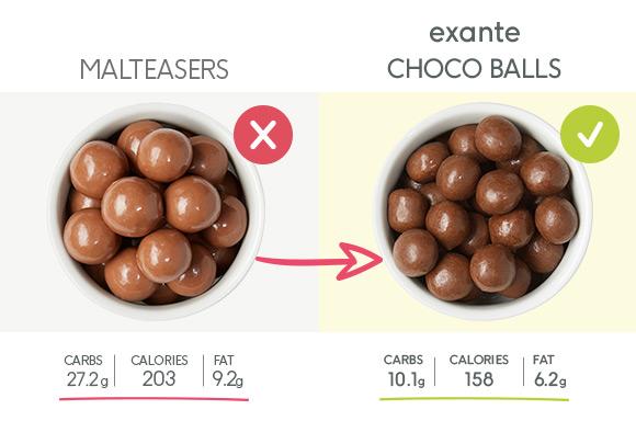 Exante Choco balls