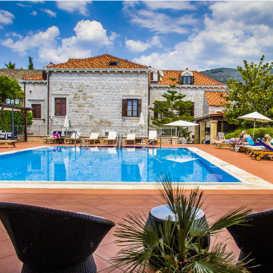 kazbek hotel in croatia - january blues competition holiday location