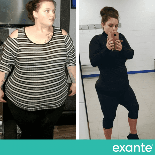 Amy, a shortlisted slimmer of the year transformation image
