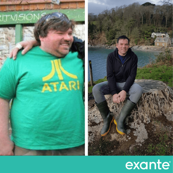 John, our slimmer of the year transformation image
