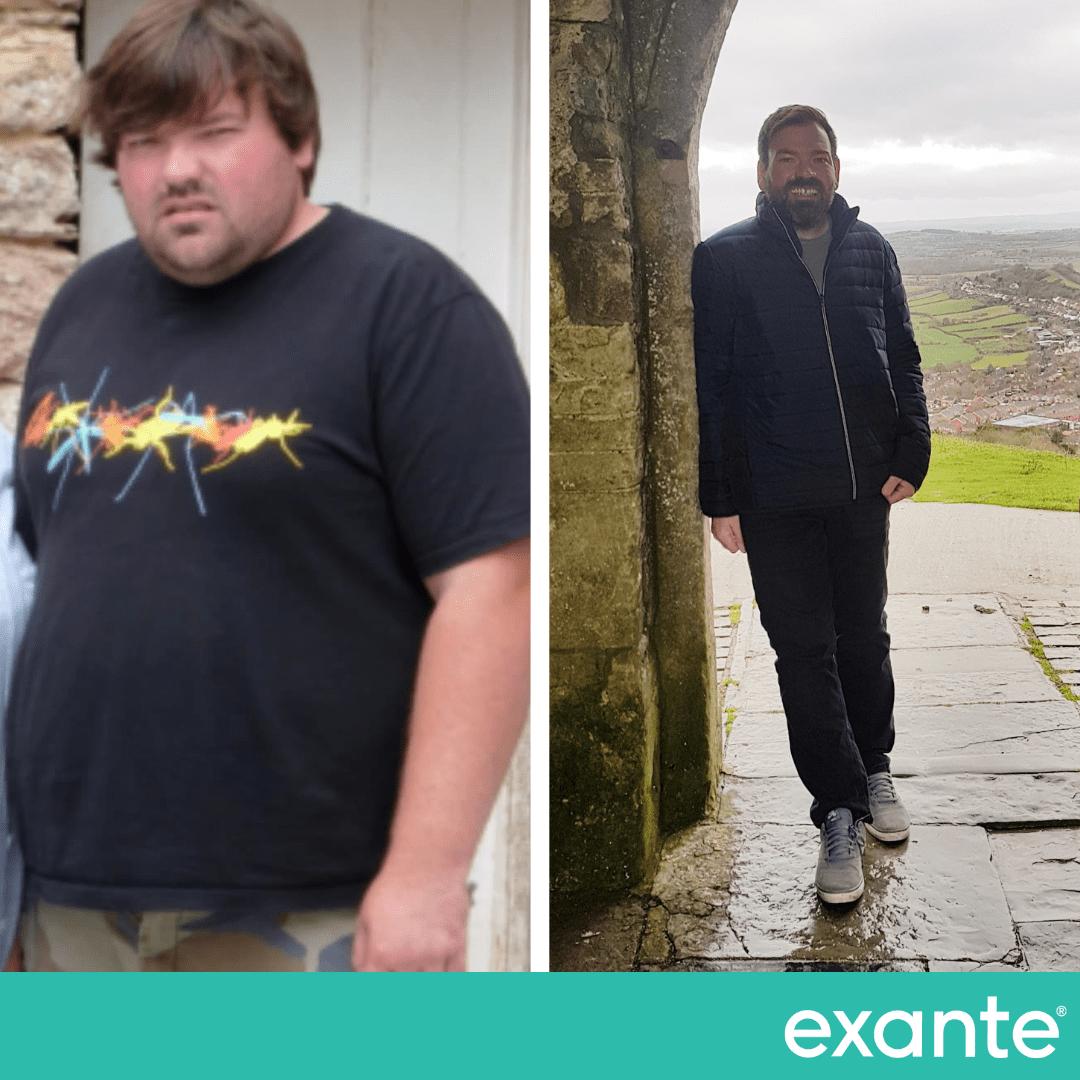 John, Exante Slimmer of the Year Winner transformation
