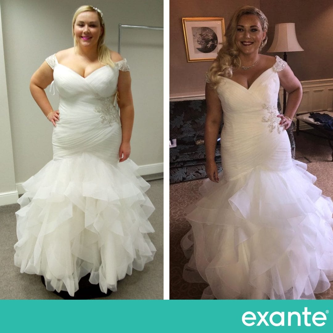 Kate, Exante Wedding Success Story transformation