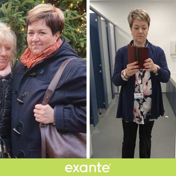 kasia, a Slimmer of the Season shortlisted contestant, before and after images
