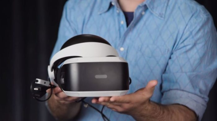 Sony Unbox the PlayStation VR