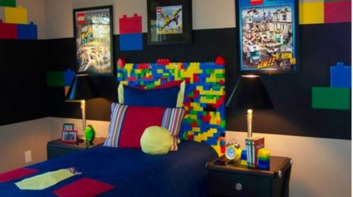 lego bedroom