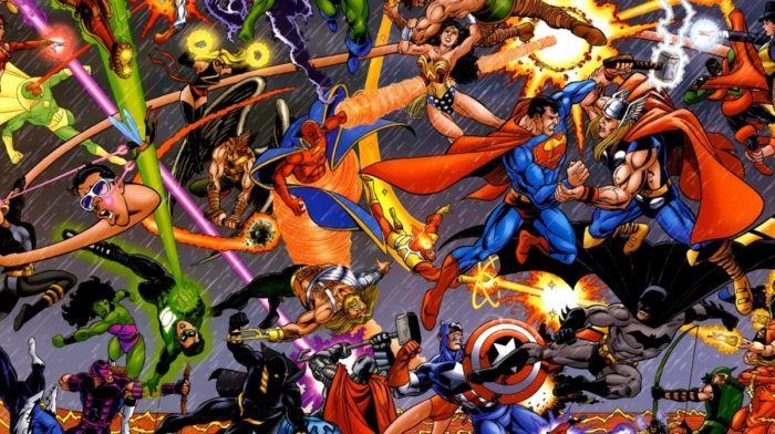 A Short History of the Comic Book Titans: Marvel & DC