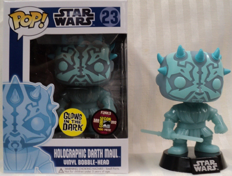 Holographic Darth Maul Pop! Vinyl Figure