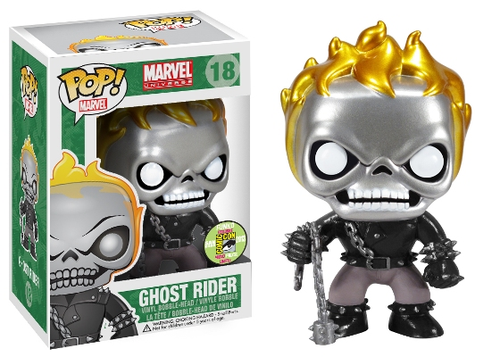 Ghost Rider (Metallic) Pop! Vinyl Figure