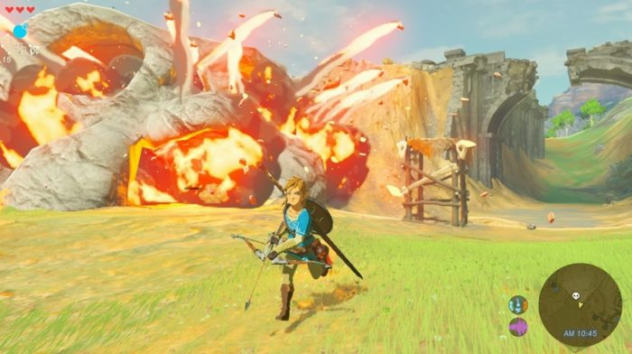 New Zelda: Breath of the Wild Details Revealed