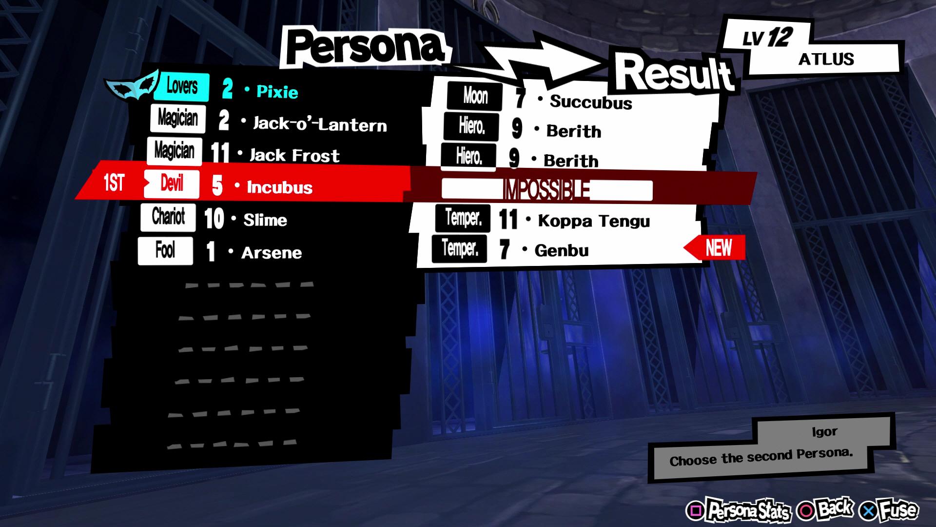 Persona 5 Fusion