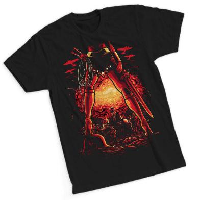 ZBOX Superheroines T-Shirt