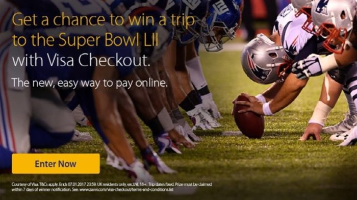 Are you ready to have a chance to win big with Visa Checkout?