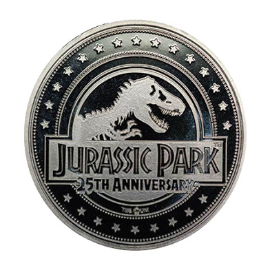 Jurassic Park 25th anniversary collector's coin