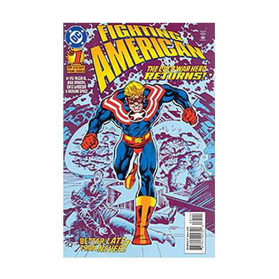 Fighting American Comic Book