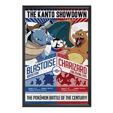 Pokemon Poster Metallic Variant