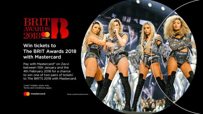 Win tickets to The BRIT Awards 2018 with Mastercard and Zavvi!