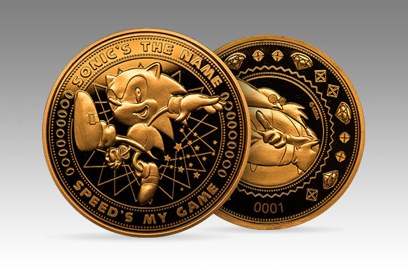 sonic collector's coin