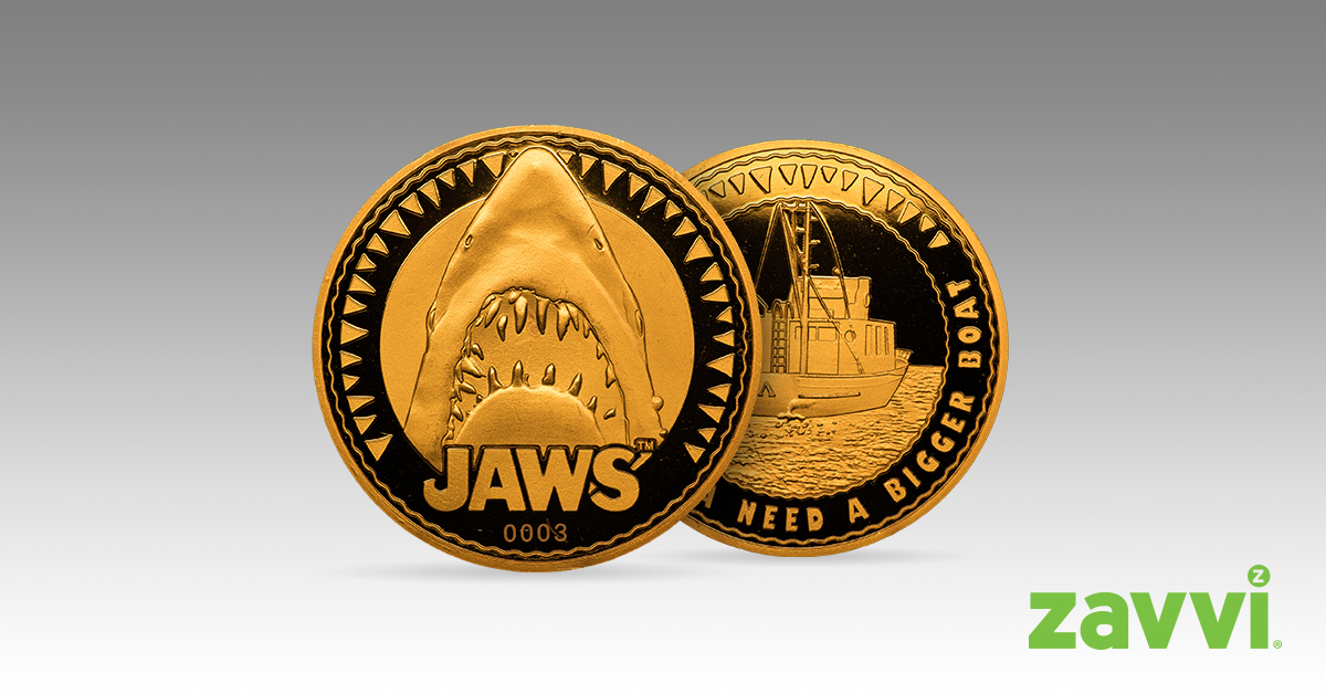 jaws collectors coin