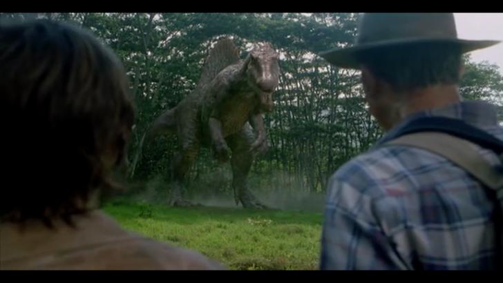 spinosaurus jurassic park dinosuars
