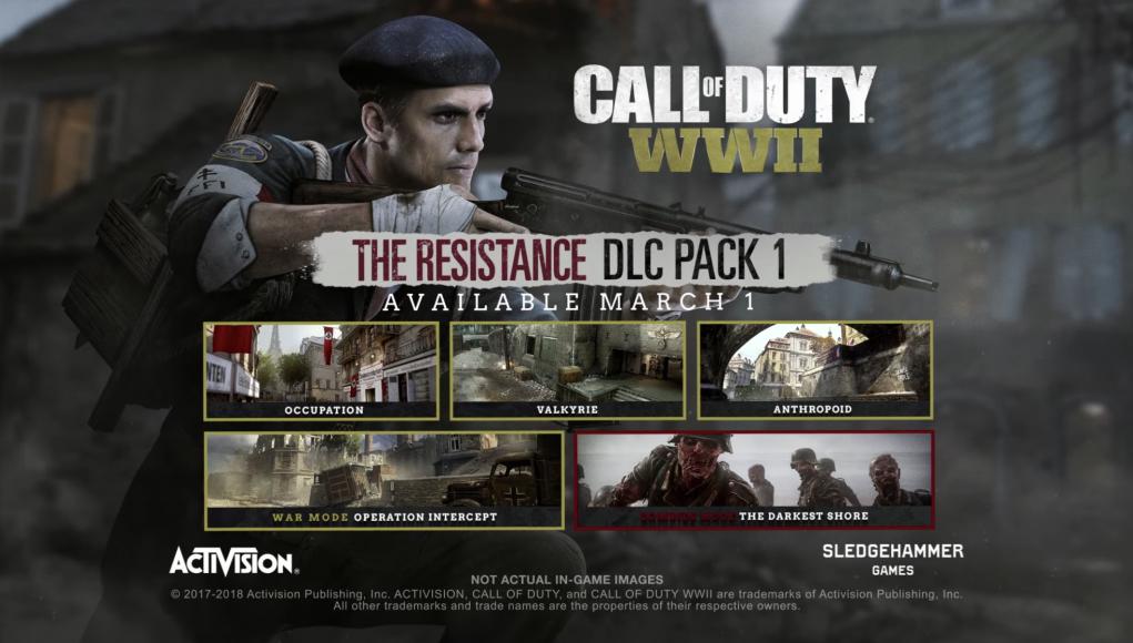Resistance DLC Pack